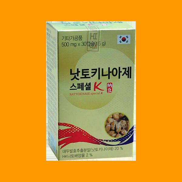 Nattokinase Special K hộp nhỏ 30 viên nang