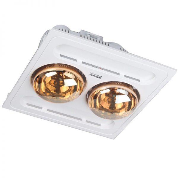 Đèn sưởi nhà tắm 2 bóng âm trần Kottmann K9S