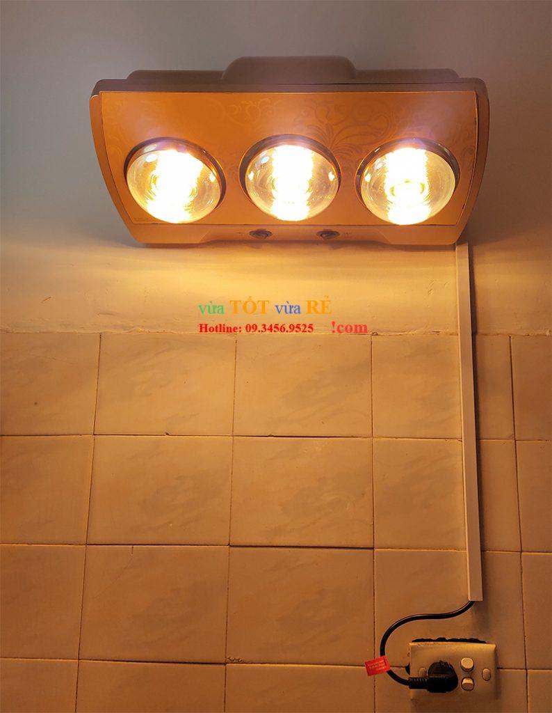 Đèn sưởi nhà tắm Heizen 3 bóng - 09.3456.9525