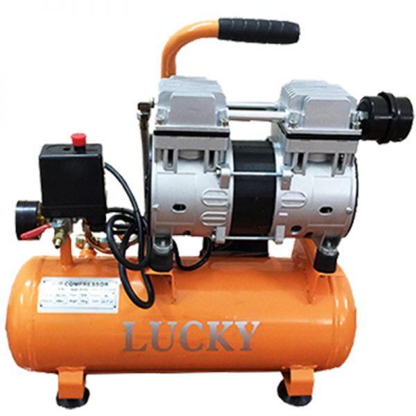 Máy nén khí không dầu Lucky 9L 0.75HP
