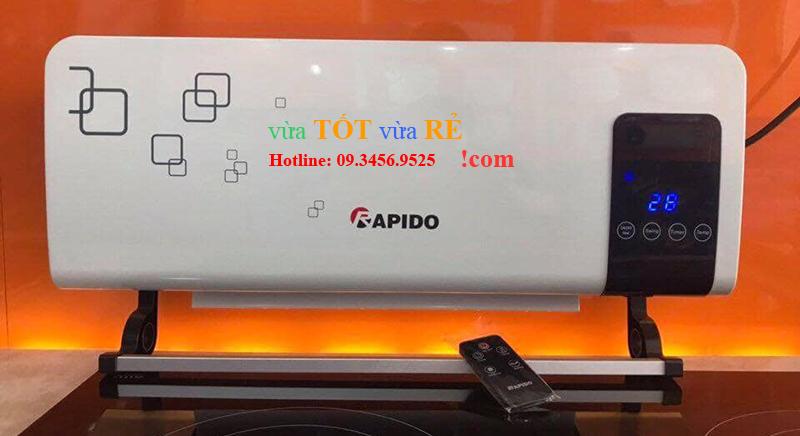 Máy sưởi rapido điều khiển từ xa RCH2000R (https://vuatotvuare.com - 09.3456.9525)