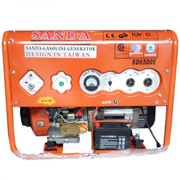Máy phát điện Sanda SD6500E