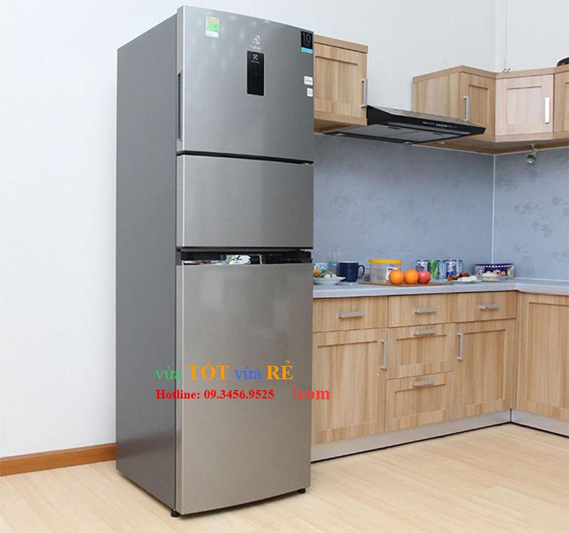 Tủ lạnh 340L inverter 3 cánh Electrolux EME3700H-A