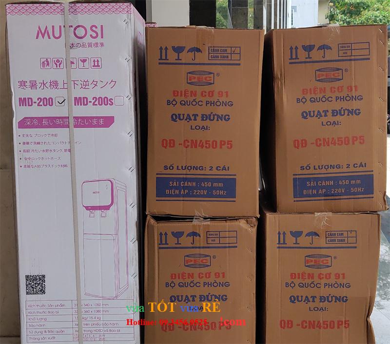 Cây nước nóng lạnh Mutosi MD 200