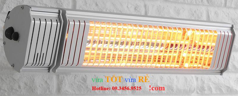 Đèn sưởi nhà tắm không chói mắt 2000w Heizen Appino20