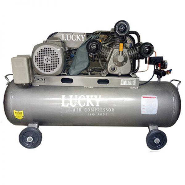 Máy nén khí dây curoa Lucky 120L 4HP 3Pha