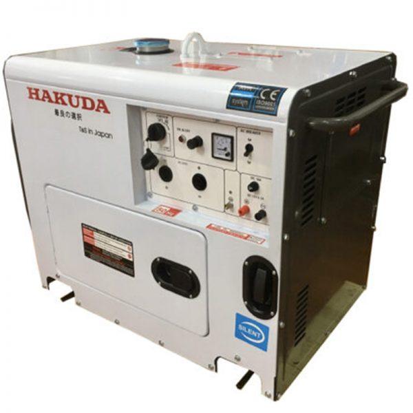 Máy phát điện Hakuda DG9800SE-(7KW)A