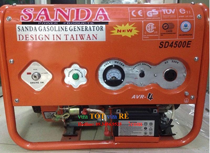 Máy phát điện Sanda SD4500E