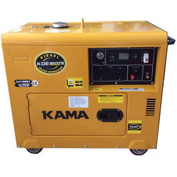 Máy phát điện chống ồn Kama KDE6500TN