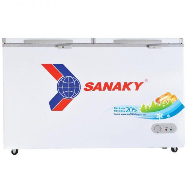 Tủ đông Sanaky 2 cánh dàn đồng