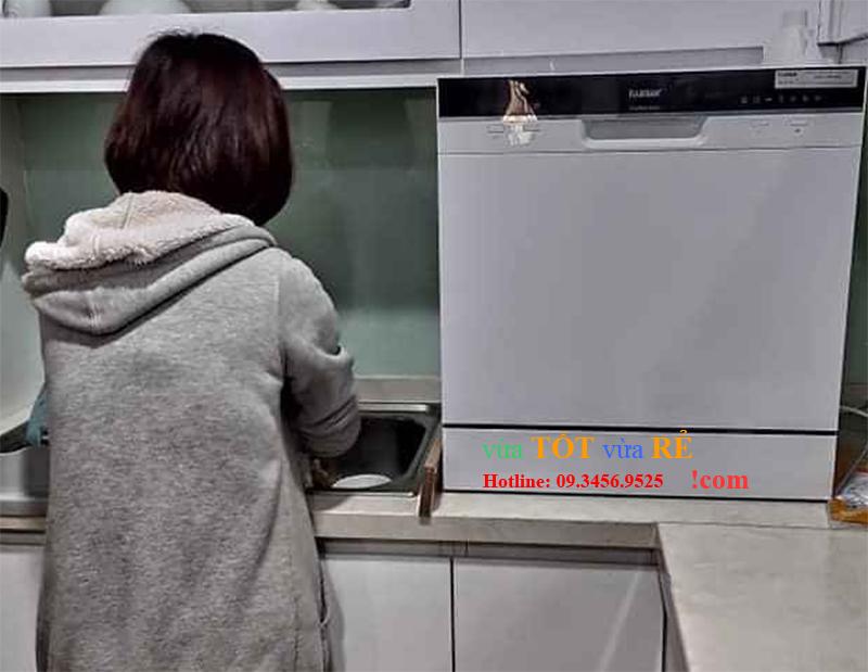 Máy rửa bát 8 bộ Fujishan FJVN08-S05F