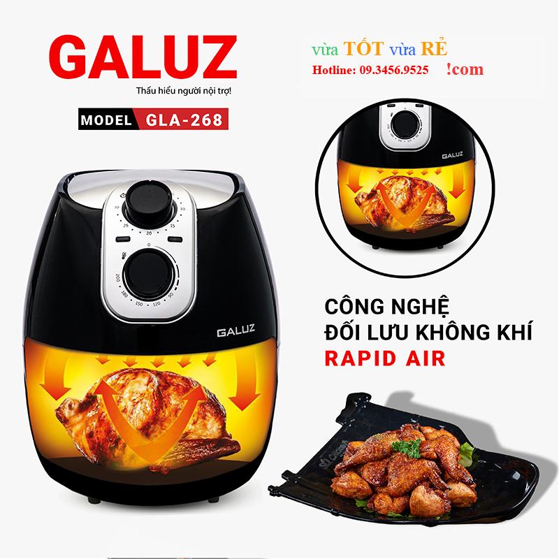 Nồi chiên không dầu Galuz 4L GLA-268