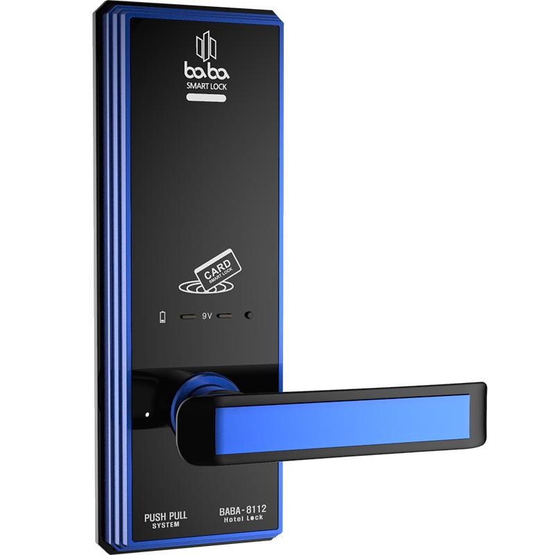 Khóa điện tử BabaLock Hàn Quốc Baba-8112 Blue