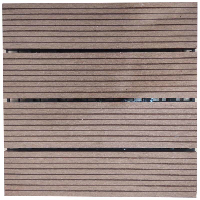 Tấm sàn gỗ nhựa lắp ghép màu 02