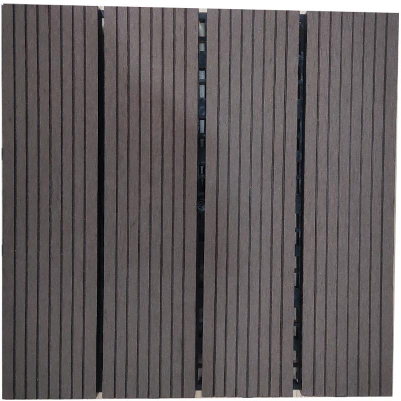 Tấm sàn gỗ nhựa lắp ghép màu 05